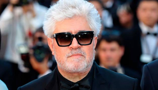 Foto de Pedro Almodóvar, presidente del jurado de la competición oficial del Festival de Cannes.
