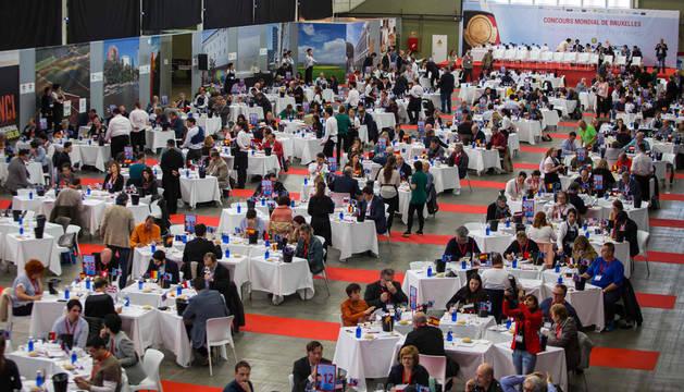 foto de Asistentes al Concurso Mundial de Bruselas.