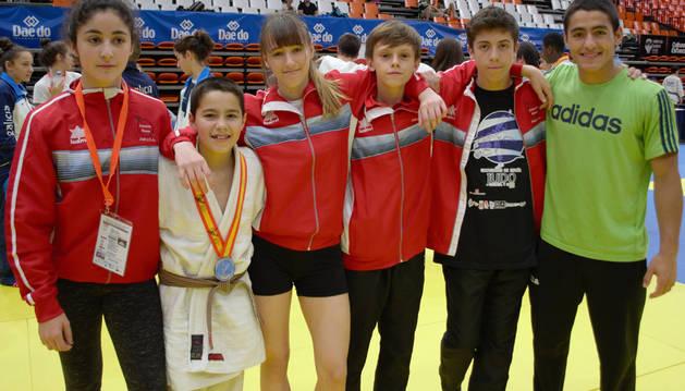 Destacados resultados de la cantera del judo de Barañáin