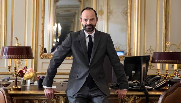Foto del nuevo primer ministro, Edouard Philippe.