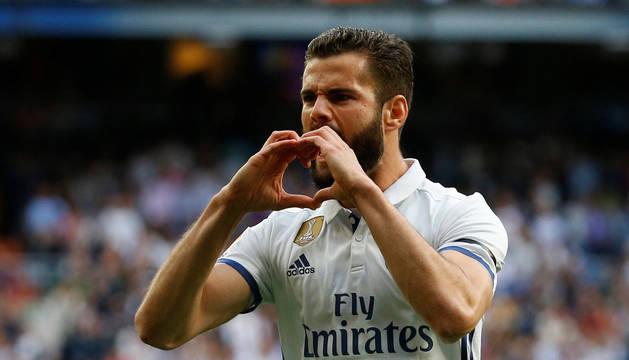 Nacho, defensa del Real Madrid.