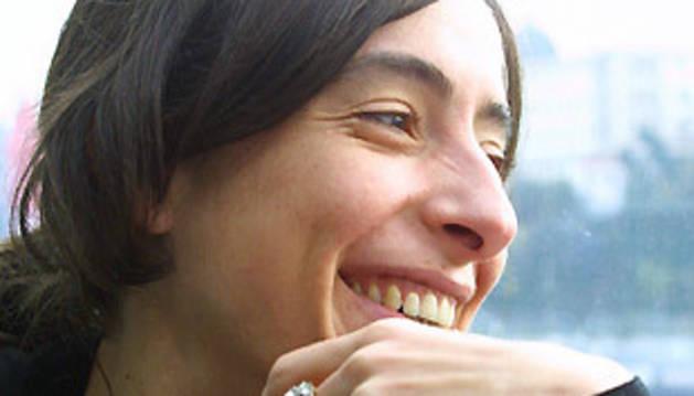 La diseñadora Miriam Ocariz.