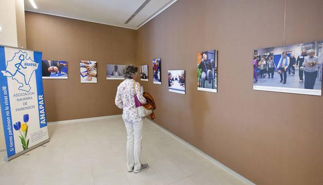 ANAPAR expone en el CHN imágenes de su actividad