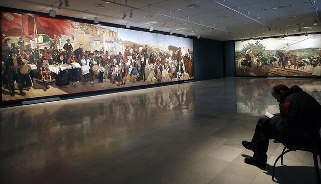 Exposición 'Sorolla. Visión de España', que reúne los catorce cuadros que el pintor valenciano pintó en 1919 para la Hispanic Society de Nueva York.