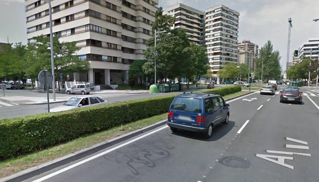 Imagen de la avenida Sancho el Fuerte.