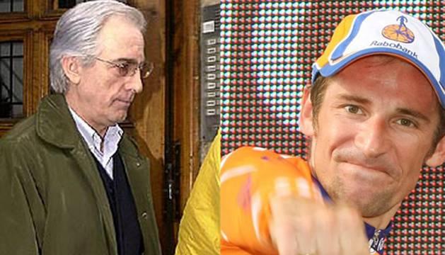 Urralburu y el exciclista Menchov, entre los morosos de Hacienda Navarra