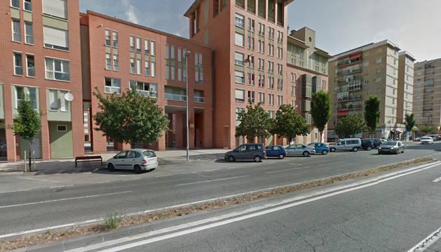 Imagen de la avenida San Jorge de Pamplona.