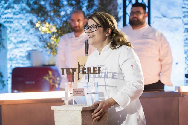 Imagen de la ganadora de la cuarta edición de 'Top chef', Rakel Cernicharo.