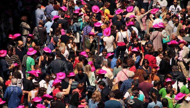 Imagen de una edición anterior de la Fiesta del Rosado.