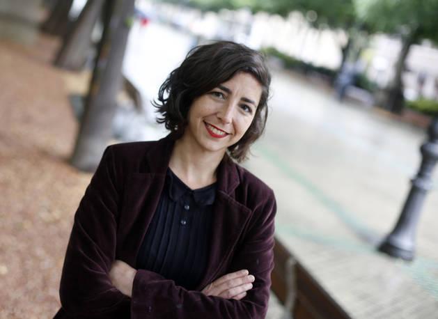 Laura Pérez, el pasado jueves en el Paseo Sarasate.
