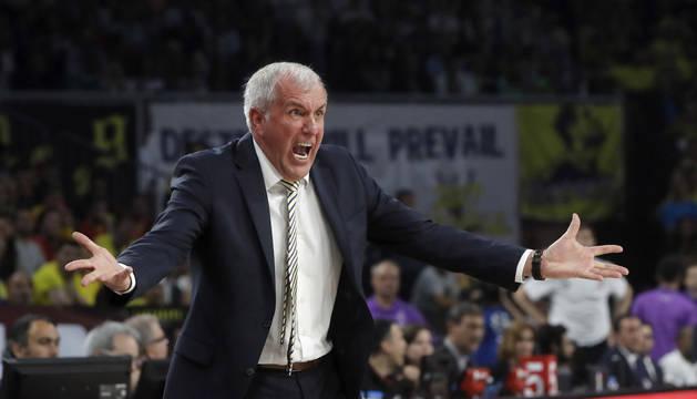 Zeljko Obradovic, entrenador del Fenerbahce.