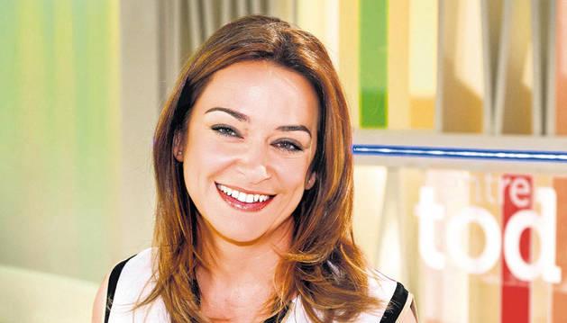 Imagen de la presentadora de televisión Toñi Moreno.