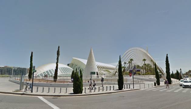Vista de Valencia.
