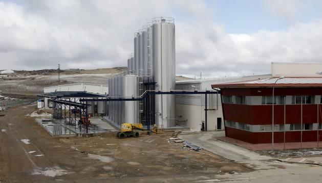 Detalle de las instalaciones que Saiona explotará en Ólvega (Soria) como quesería.
