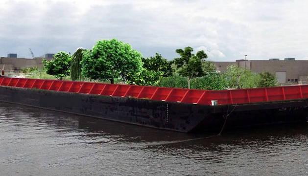 Un bosque de comida flotante recorre los ríos de Nueva York