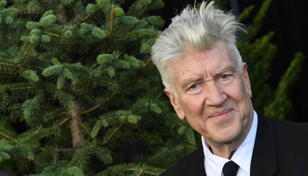 Foto de David Lynch, en el estreno mundial de la serie 'Twin Peaks'.