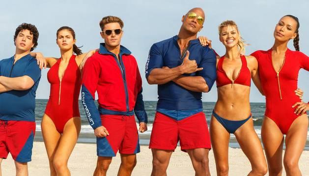 Imagen promocional de los 'Vigilantes de la playa'.