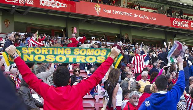 El Sporting se despide de Primera con un empate en casa con el Betis (2-2)