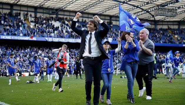 Chelsea, campeón de la Premier 16/17