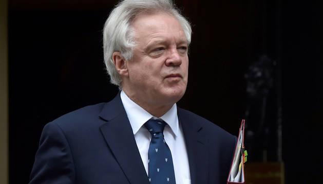 David Davis, ministro para el Brexit.