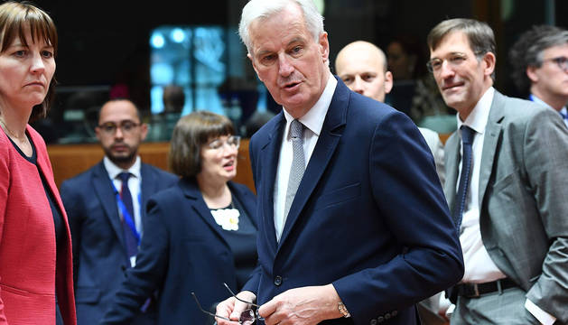 El excomisario francés Michel Barnier, negociador europeo para el Brexit.