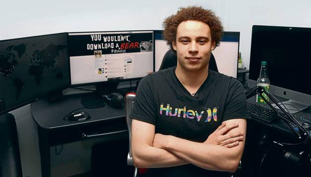 El 'hacker' inglés Marcus Hutchins, que detuvo la expansión del virus WannaCry.