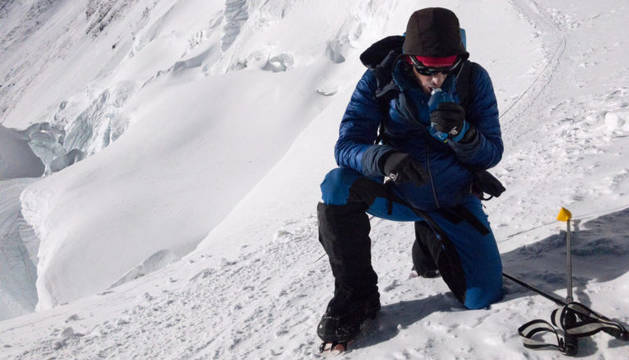 Kilian Jornet en una imagen de su reto 'The summits of my life'