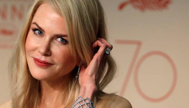 Foto de la actriz Nicole Kidman, en Cannes.