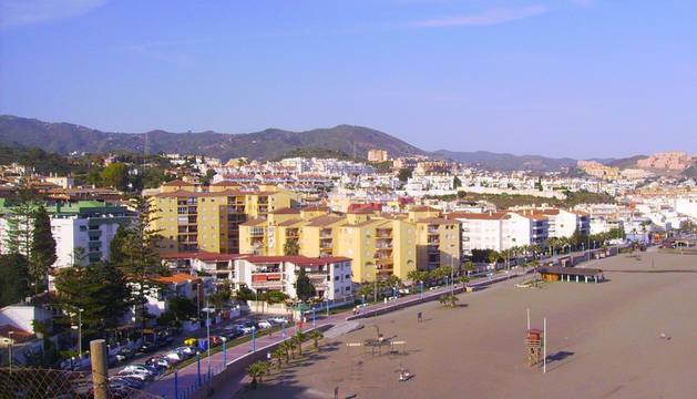Vista de Rincón de la Victoria.