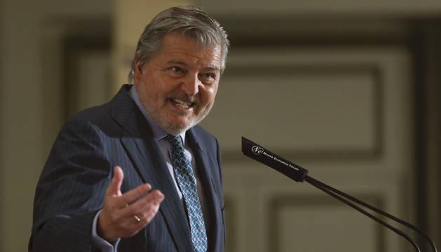 Foto del portavoz del Gobierno, Íñigo Méndez de Vigo.