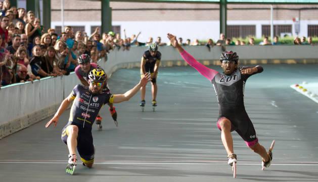 Un momento del campeonato disputado en Barañáin.