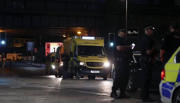Imágenes del atentado en el Manchester Arena, que ha causado al menos 19 muertos y 59 heridos