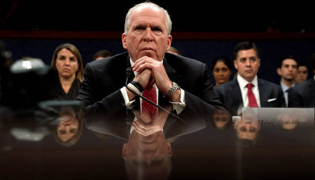 John Brennan en la comparecencia