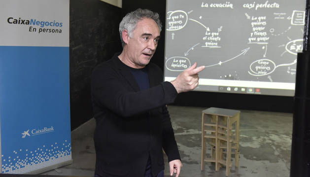 foto El chef Ferran Adriá colabora con CaixaBank en el proyecto 'Mise en Place'.