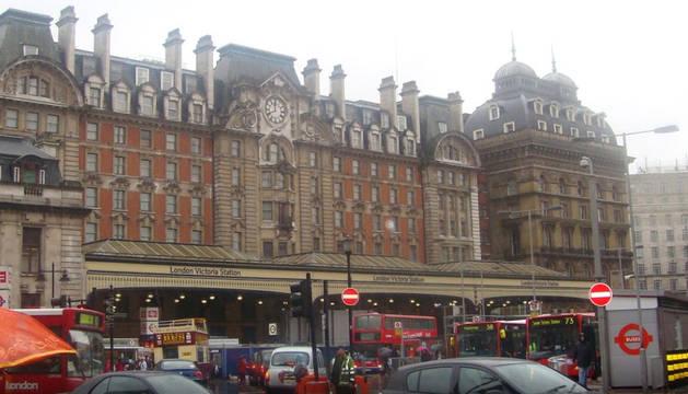 Estación de Victoria en Londres.
