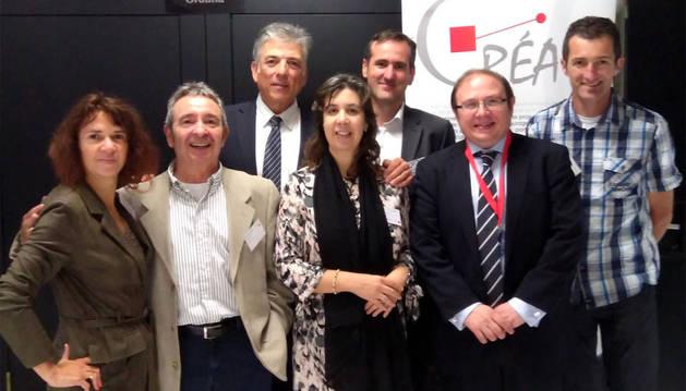 foto de Representantes de ANEC que asistieron al networking transfronterizo.