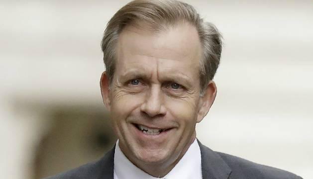 El embajador en funciones de EE UU en Reino Unido