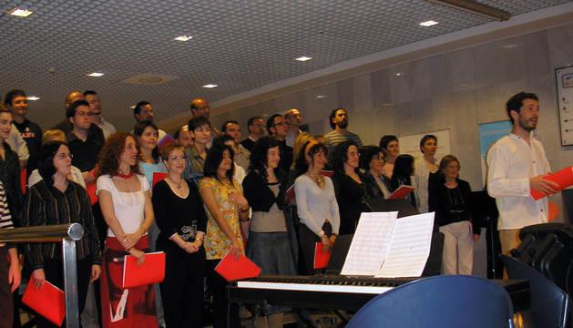 2007: I Taller de Jazz Coral de la mano de Coral Barañáin