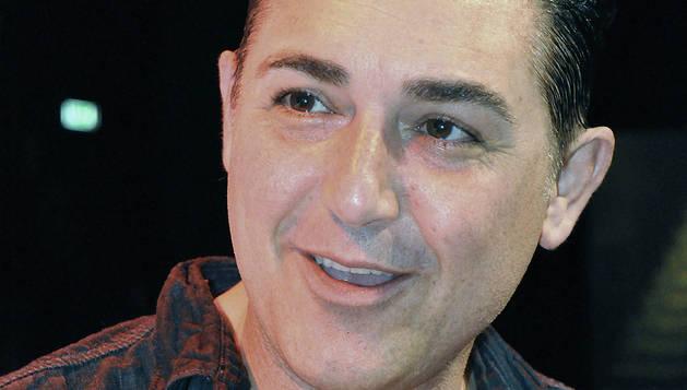 El actor andaluz Ángel Paredes, conocido artísticamente como Ángel Garó, en una entrevista con EFE.
