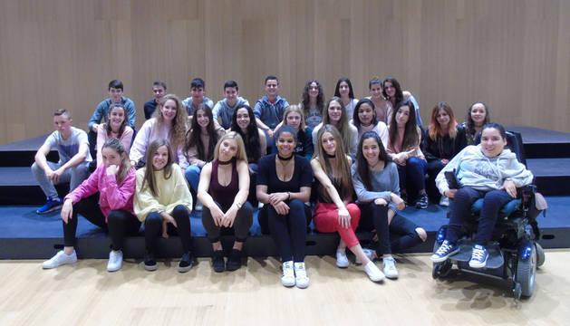 Estudiantes del IES Barañáin estrenan el 2 de junio 'El musical de los musicales'