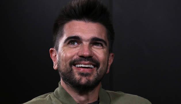 Foto del cantante colombiano Juanes durante una entrevista.