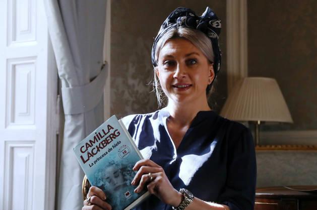 Imagen de la escritora sueca Camilla Läckberg.