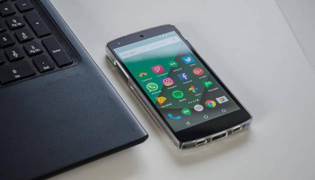 foto de un móvil