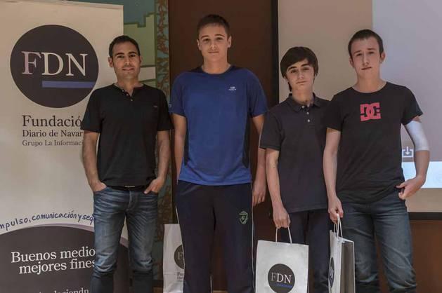 Ganadores del IV Concurso periodístico escolar FDN