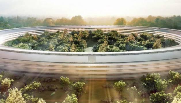 La nueva sede de Apple en California