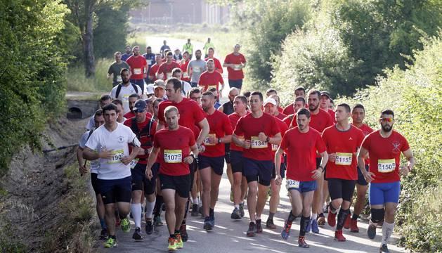 Participantes en una de las pruebas de la IV Carrera San Cristóbal Memorial Casanova.