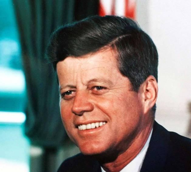 Imagen del presidente de Estados Unidos John F. Kennedy en 1963.