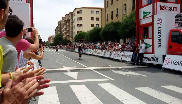 El belga Harm Vanhoucke (Lotto) gana la Vuelta a Navarra