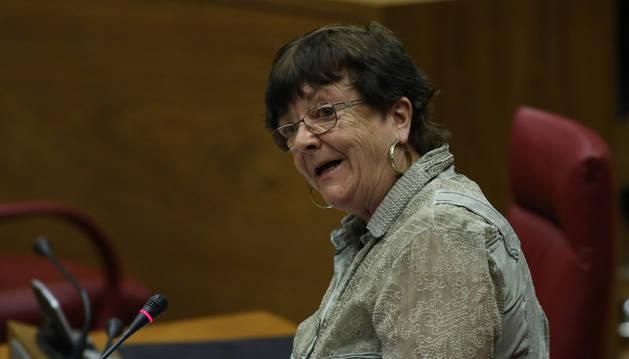 Imagen de la consejera de Presidencia y Función Pública, Mª José Beaumont.