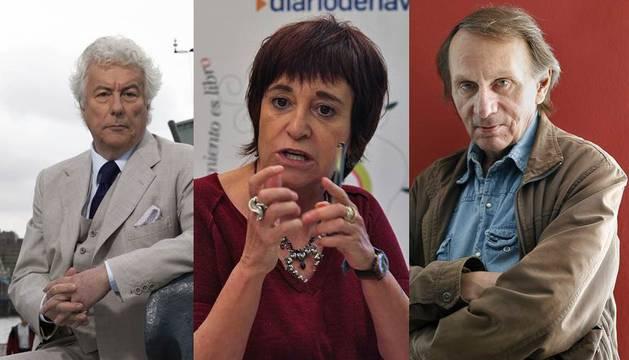 Ken Follett, Rosa Montero y Michel Houellebecq
